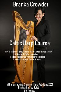 Branka Crowder - Celtic harp